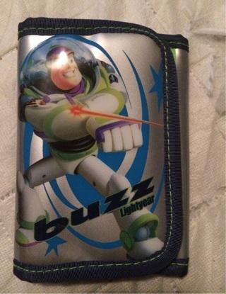 Buzz lightyear wallet