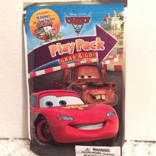 Disney Pixar CARS 2 Movie Pack Grab & Go Activity Kit ~ New