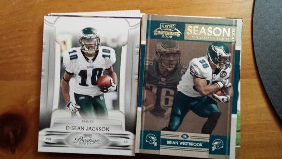 Lot of 45 Philadelphia Eagles Cards