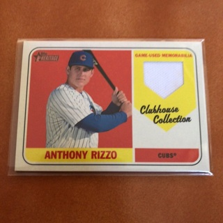 Chicago Cubs Anthony Rizzo Relic