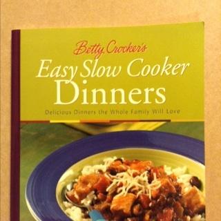 PB - Betty Crocker Easy Slow Cooker Dinners