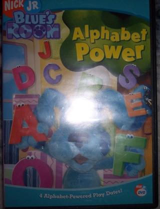 DVD: Blue's Room Alphabet Power