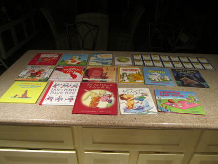 14 Hard Cover Weekly Reader Book Set with Read-Along CDs