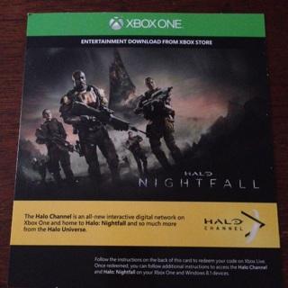 Free: Halo Nightfall Entertainment download code - Video