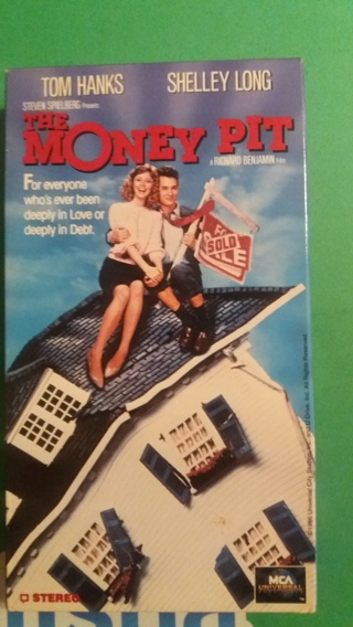 vhs the money pit  free shipping