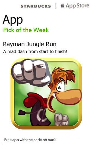Free: Rayman Jungle Run iTunes App download - Video Game Prepaid