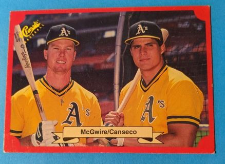 1988 MCGWIRE & CANSECO