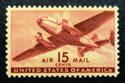 Stamp US - Scott # C28 - AIR MAIL - MNH [LT01]
