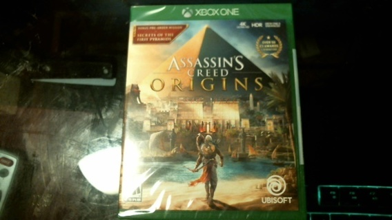 """New Sealed XBox One Game: """"Assassin's Creed Origins"""""""