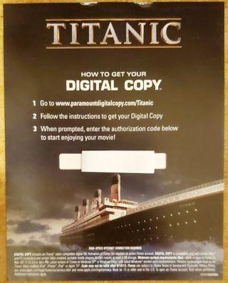 Titanic Digital Copy