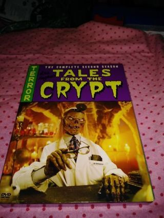 ⚛✨⚛✨⚛TALES FROM THE CRYPT COMPLETE 2ND SEASON DVD SET IN LIKE NEW CONDITION⚛✨⚛✨⚛PLEASE READ!