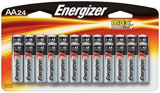 ✔~ Energizer Max AA Batteries Alkaline (24 Count) ~ ✔