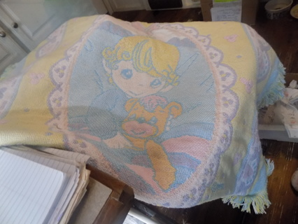Precious Moments Baby Throw Blanket