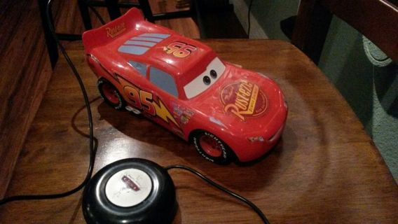 Disney Supercharged Cars Lightning McQueen Remote Control Vehicle by Tyco