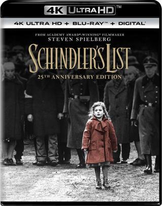 Schindler's List (4K Digital UHD Download Code Only) **Liam Neeson** **Steven Spielberg**