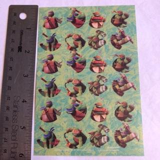 ✕★ TMNT Turtles Sticker Sheet #8 BRAND NEW ★✕