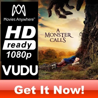 A MONSTER CALLS HD MOVIES ANYWHERE OR VUDU CODE ONLY