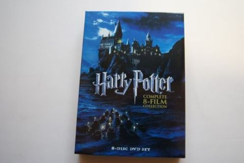 NEW!!! Harry Potter: The Complete 8-Film Collection (DVD, 2011, 8-Disc Set) fast shipping from USA
