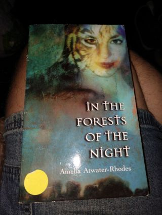 In the Forests of Night by Amelia Atwater-Rhodes (paperback)