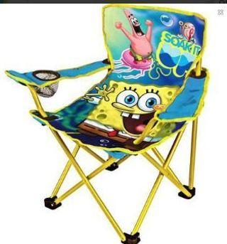 1 Spongebob SquarePants Camp Chair Camping Beach Home Room gin