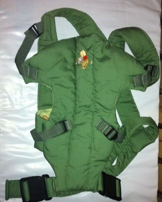 free winnie the pooh baby carrier the first years brand green