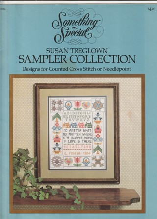 Cross Stitch or Needlepoint Craft Leaflet: Something Special...Designs as Shown