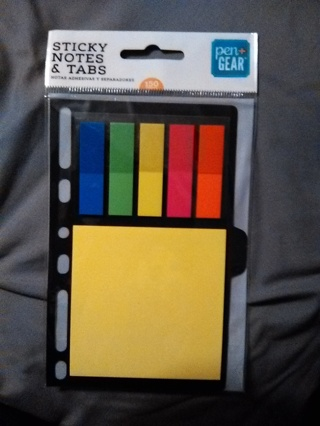 Pen Gear Sticky Notes and Tabs -- NEW!