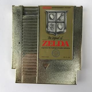 ✯The Legend of Zelda (Nintendo Entertainment System 1987) NES Gold Cartridge ~ FREE SHIPPING✯