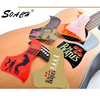 SOACH 1pc new Musician / band pattern Acoustic Guitar Pickguards Practical Hummingbird Scratch Plate