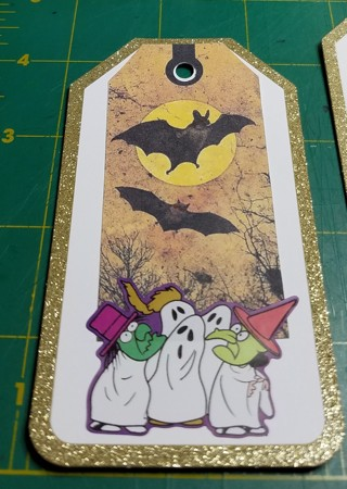 ~~4 HALLOWEEN TAGS GREAT FOR THE KIDS~~