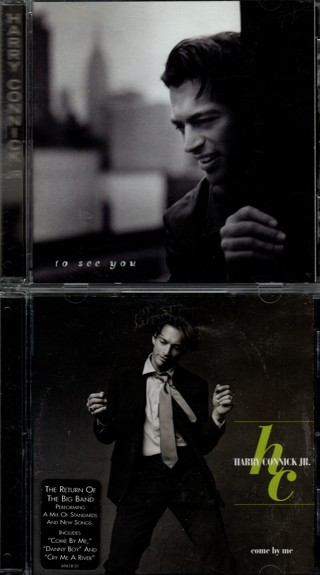 Pair of CDs by Harry Connick Jr - Come By Me and To See You