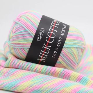Colorful Hand Knitting 50g Knitting Yarn Crochet Yarn for Knitting