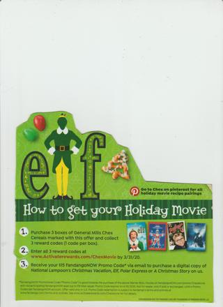 Chex Christmas Movie Code