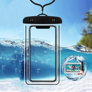 Waterproof Mobile Phone Case For iPhone X Xs Max Xr 8 7 Samsung S9 PVC Sealed Underwater Cell Phone