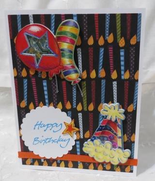 One of a Kind Handmade Birthday Card