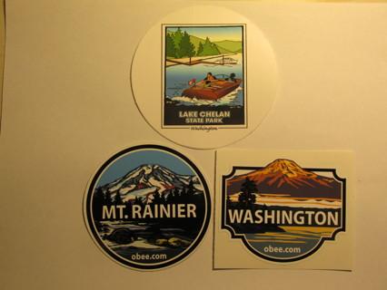 3 Washington St. Stickers