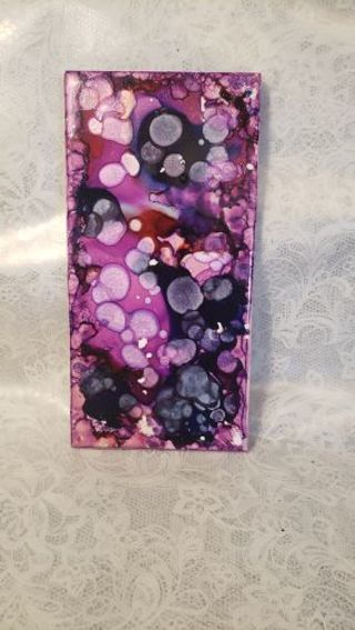 Abstract Art ♡♡ Purple pearl bubbles ♡♡