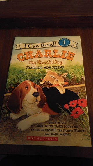 I Can read books - Charlie the Ranch Dog - New