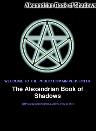 wiccan book of shadows pdf free download
