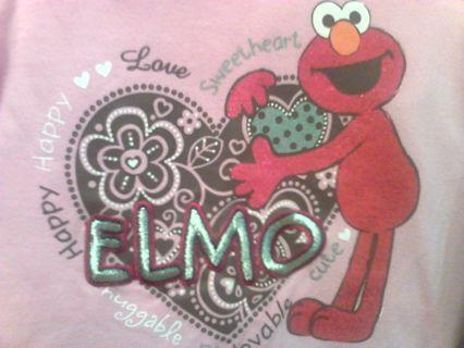 Elmo 2pc set w/bonus shirt 2T **Plus more to come**