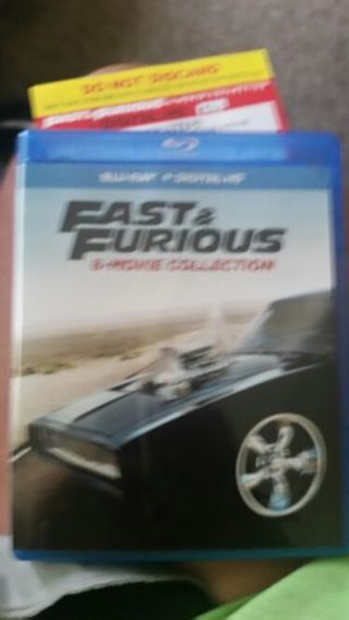 The fast and the furious digital copy hd