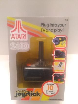 NEW, ATARI 2600 Plug & Play Joystick