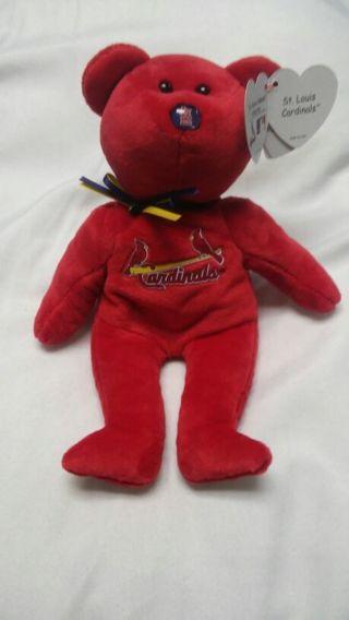 St.Louis Cardinals TY Beanie Bear ****FREE SHIPPING****