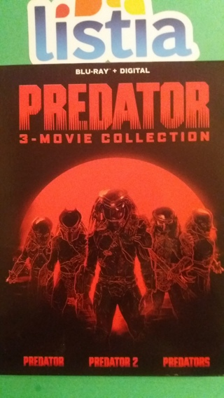 blu-ray  predator 3-movie collection   free shipping