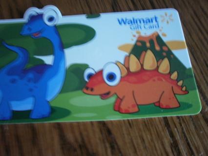 5.00 DOLLAR WAL MART GIFT CARD GIN FOR 11,100