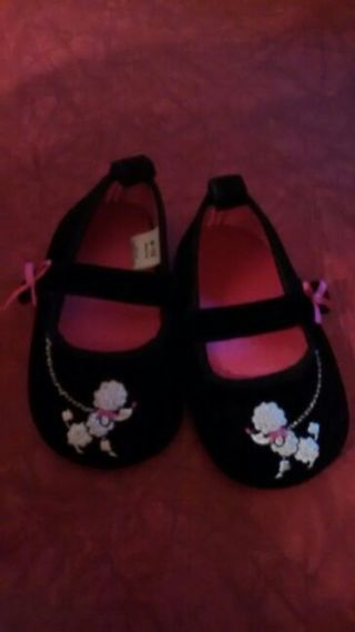 Poodle Baby Shoe's