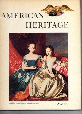 Vintage American Heritage Hard Covered Book: April 1966