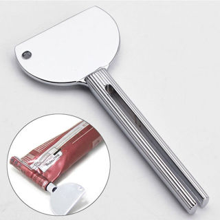 Stainless Steel Tube Toothpaste Squeezer Key Dispenser Wringer Easy Squeeze Tool