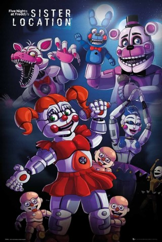 [FREE STEAM GAME] Five Nights at Freddy's Sister Location
