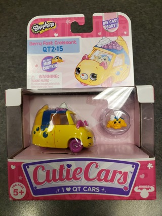 NIB Shopkins Cutie Car QT2-15